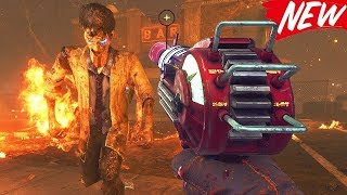 GUN GAME ON TOWN REMASTERED WITH MW3 GUNS! (Call Of Duty Zombies Remastered)