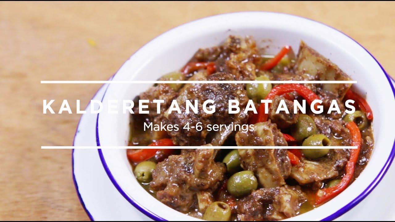 how to cook caldereta batangas