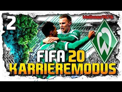 Was Können Die Neuen ⚽ Let´s Play FIFA 20 Karrieremodus WERDER BREMEN #2