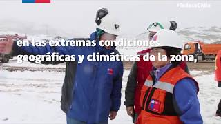 #EmergenciaCerroBayo: Sigue la búsqueda de los mineros en Chile Chico