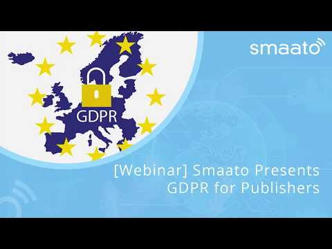 [Webinar] Smaato Presents GDPR for Publishers
