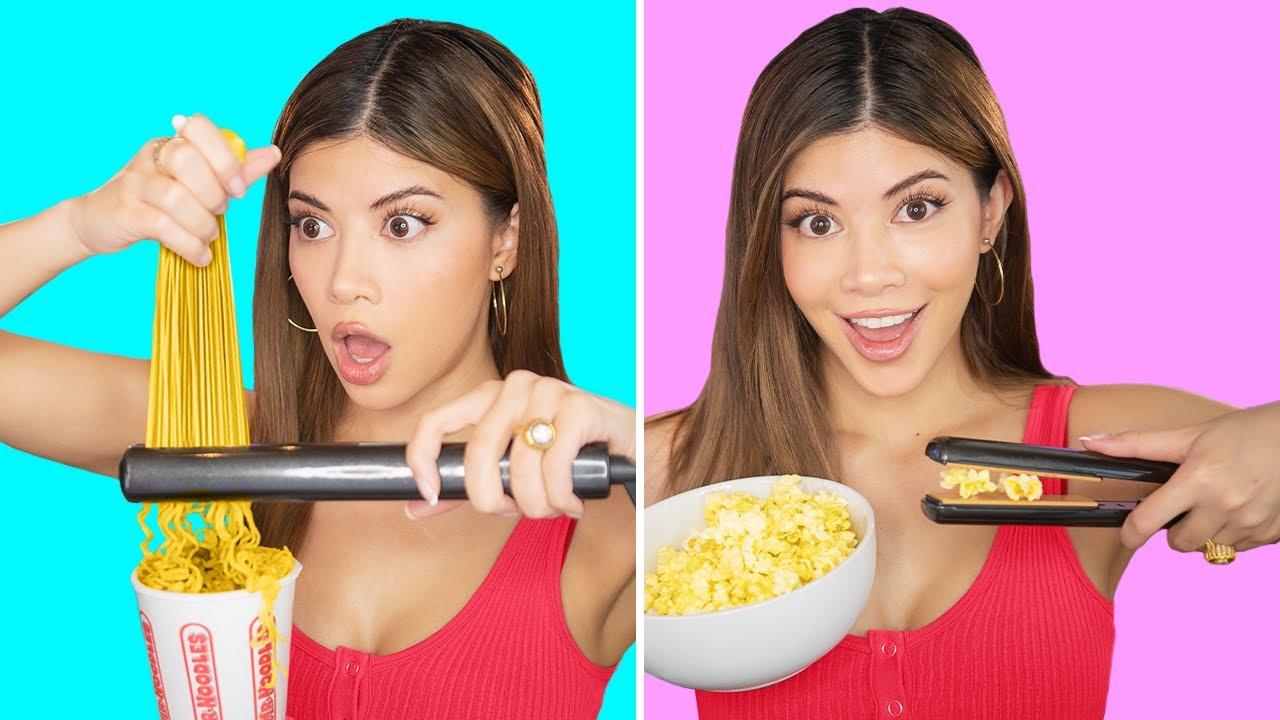 Trying Genius Viral DIY Food Hacks