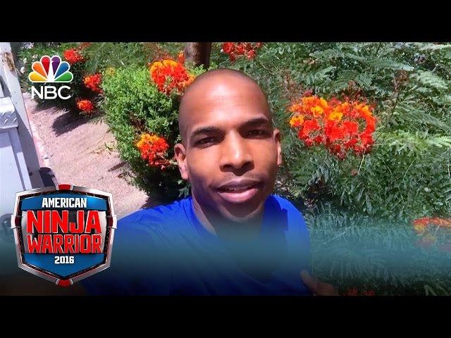 kevin bull american ninja warrior with hair. american ninja warrior national finals part 1 recap: mt. midoriyama looms kevin bull with hair