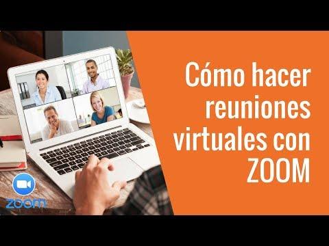 ✅ Como Crear Reuniones Virtuales Con Zoom (salas De Reuniones Y Conferencias Virtuales) 👩🏻💻👨💻