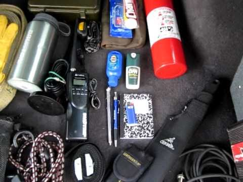 EDC Items In A Vehicle (2001 Jeep XJ Cherokee) - YouTube