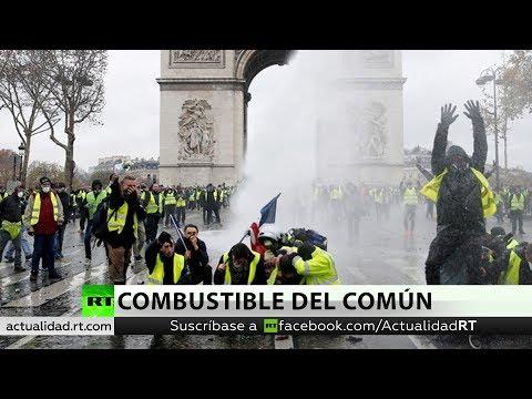 Pueblos: Francia: Protestas y represión Por Orestes Martí
