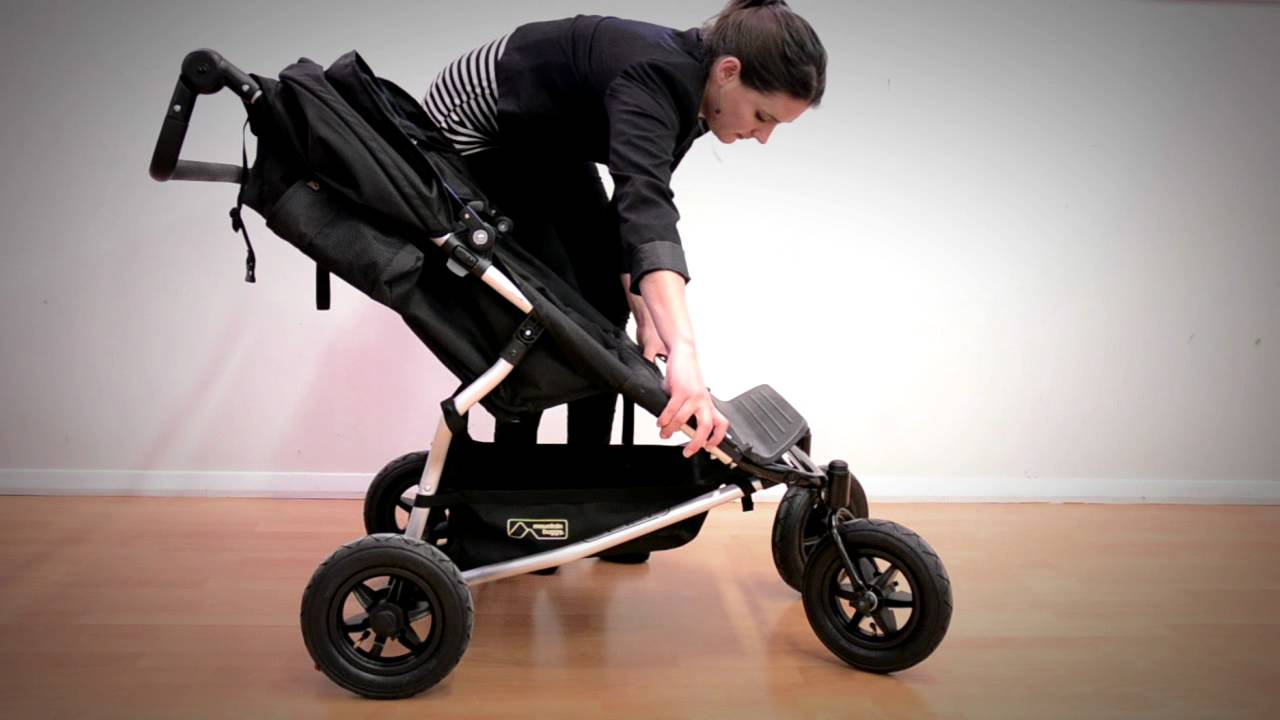 Mb How To Fold A Buggy Example Duet Youtube Stroller Cocolatte Isport 9m