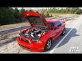 On3 Twin Turbo Mustang 5.0 vs Vortech V3 Mustang 5.0 Built 2.4L Turbo Evo STREET RACING