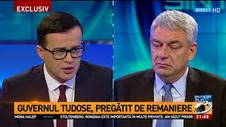 "Mihai Tudose anunță o ""miniremaniere"""