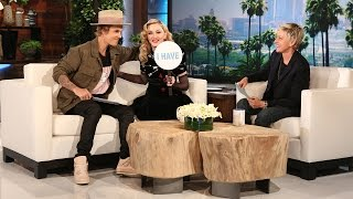 Ellen\'s Favorite Moments: Madonna and Justin Bieber Play Never Have I Ever