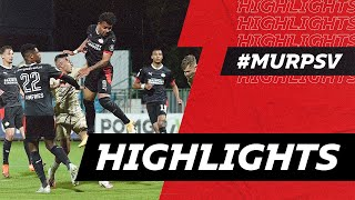 DOUBLE TROUBLE with Malen & Gakpo in Mura 😈   HIGHLIGHTS NS Mura - PSV