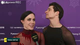 Tessa Virtue & Scott Moir - OG IE interview BBC