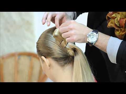 Прически в греческом стиле на длинные волосы..webm