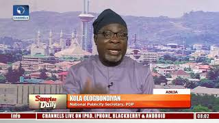 Whoever Emerges PDP Candidate Will Defeat Buhari - Ologbodiyan Pt.4 |Sunrise Daily|