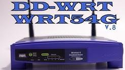 Instalar firmware custom DD-WRT Router Linksys WRT54G  v8 / v8.2