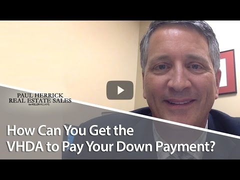 Northern Virginia Real Estate Agent: Why Is the VHDA Funding Down Payments?