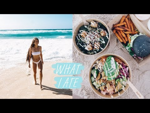 WHAT I EAT IN A DAY VLOG // VEGAN & HEALTHY