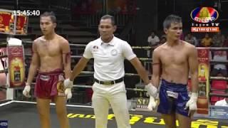 ម៉ឺន មេឃា Vs ឆាយ មាស, Bayon TV Boxing, 19/May/2018 | Khmer Boxing Highlights