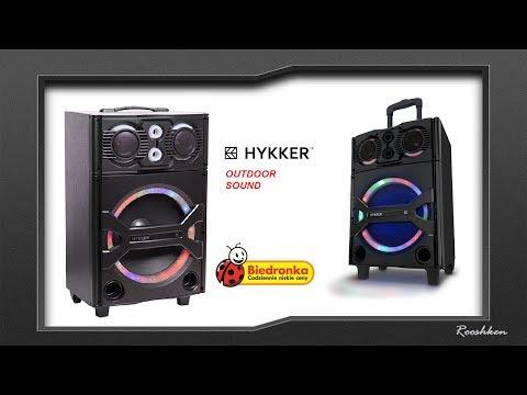 Hykker Outdoor Sound - Imprezowy głośnik z Biedronki za 299 złotych