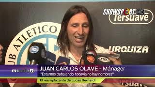 Juan Carlos Olave (Manager de Belgrano) tras la renuncia de Luvas Bernardi