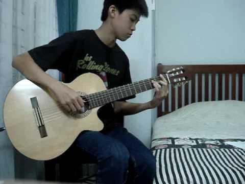 Bunda - Melly Goeslaw (guitar cover by Stefan Wan)