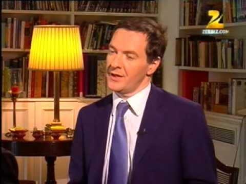 Interview with British FM George Osborne