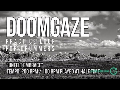 DoomGaze - Drumless Track For Drummers -