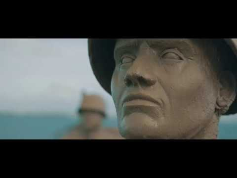 Portland Mullberry Harbours - D-Day Sculptures By Dead Walk Designs (Video: Harbour Media)