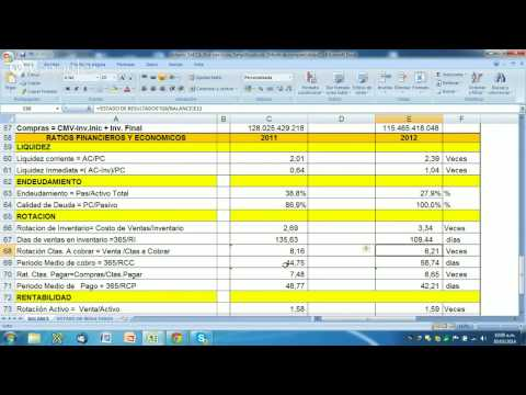 Cómo LEER E INTERPRETAR Estados Financieros de una Empresa de Capital Abierto -- Parte  II
