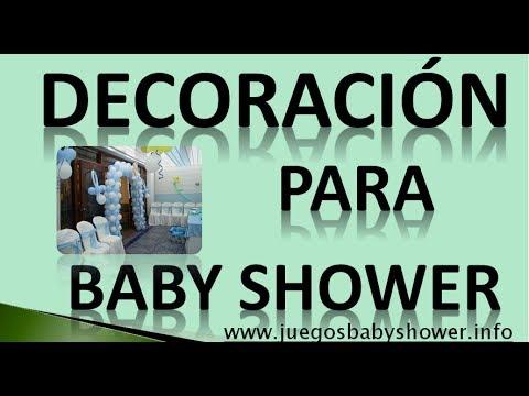 Decoracion Para Baby Shower 5 Ideas Para Decorarlo  YouTube