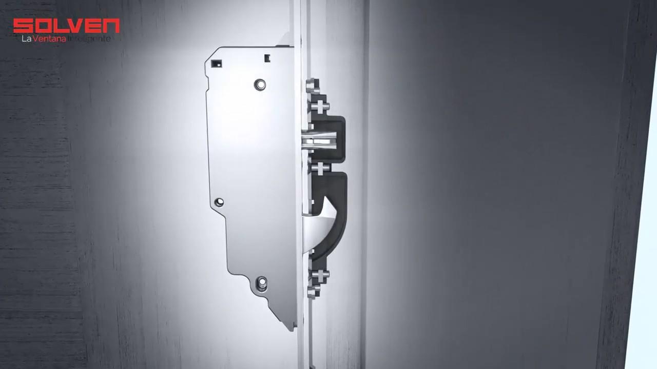 Nueva cerradura autom tica kfv 3600 disponible para las for Ventanas de pvc doble vidrio argentina