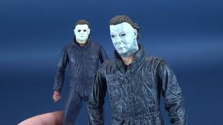 Comparing the New NECA Halloween 2018 Michael Myers to the Cult Classics Myers HORROR
