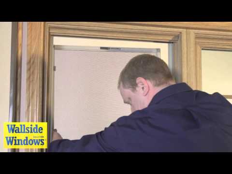 Double hung window full screen operation youtube for Wallside windows