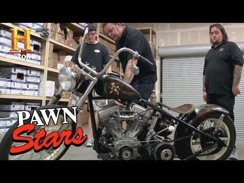 Pawn Stars: 1951 Panhead Sucker Punch Sally Bike (Season 8) | History