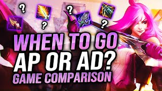 KATEVOLVED | WHEN TO GO AP OR AD KATARINA? GAME COMPARISON