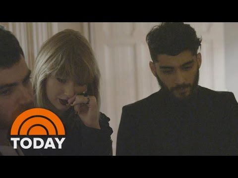 Taylor Swift Gives Exclusive First Look At '50 Shades' Music Video With Zayn Malik | TODAY