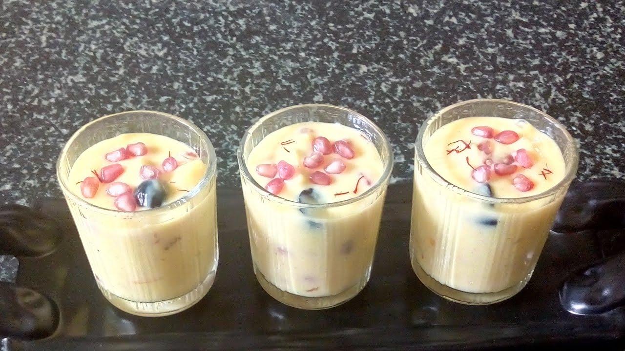 #FruitCustard Fresh Fruit || Fruit Salad with Custard