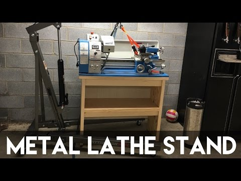 How To Build A DIY Lathe Stand | Crafted Workshop