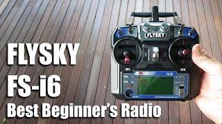 FlySky ФС-і6 Найкраще радіо для початківців