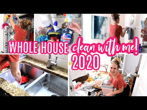 *NEW* ULTIMATE CLEAN #WITHME 2020 💕 ORGANIZING + ROUTINE MOTIVATION