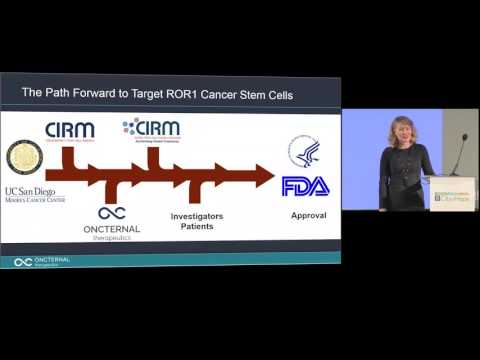 #CIRMSymposium: Cancer Stem Cell Targeting with Cirmtuzumab - Catriona Jamieson