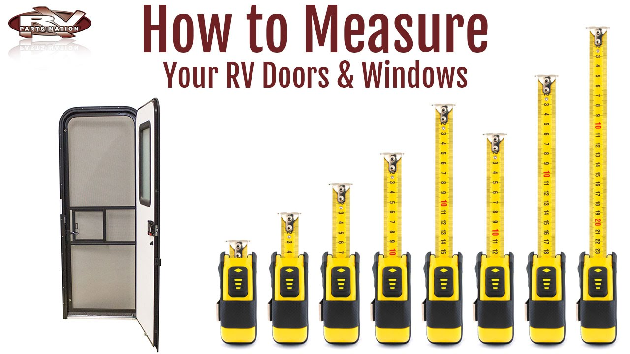 How To Measure your RV Windows and Doors