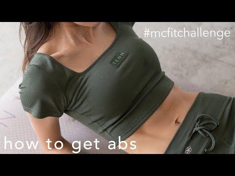 これで腹筋割れます / how i got my abs