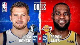 Luka & Lebron Duel In Los Angeles!
