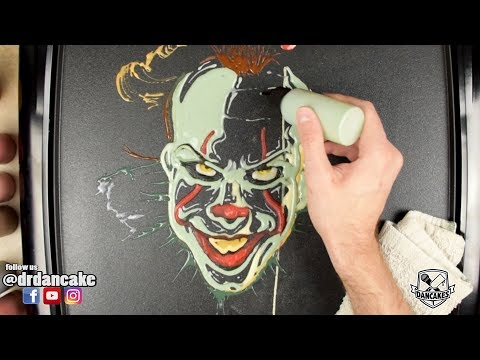 Pennywise (IT) Pancake Art
