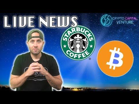 Bitcoin / Starbucks / NYSE Owner News / Bakkt