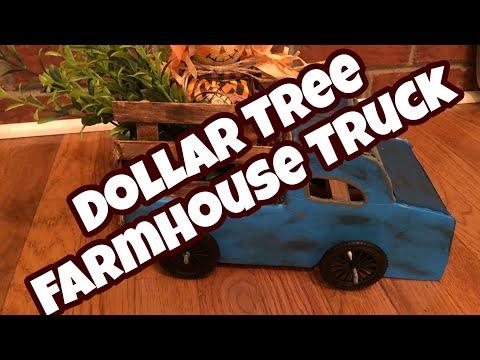 Farmhouse Truck • Dollar Tree DIY • Fall Series Special Video