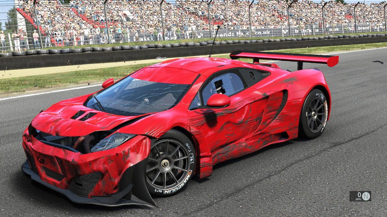Project Cars Crash Testing Build 700 Pc Gameplay Video 1080p