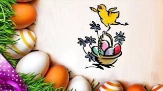 Поздравление с Пасхой!  Христос Воскрес! Пасхальная открытка