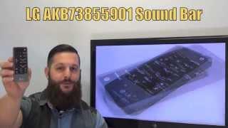 LG AKB73855901 Sound Bar System Remote - www.ReplacementRemotes.com